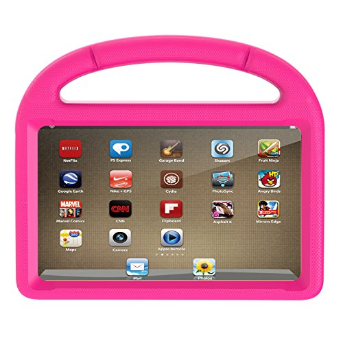 Amazon Kindle Fire 7 Case 2015, Huaup Light Weight [Anti Slip] Shock Proof Protective Cover [Kids Friendly] (Previous…