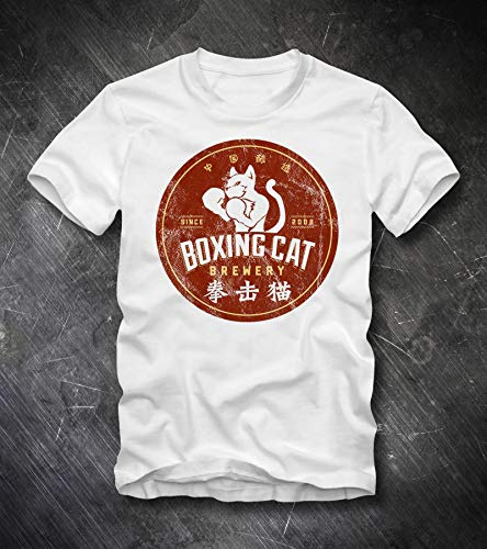 BOXING CAT BEER T Shirt Shanghai China Brewing Co Micro Brewery Ipa India Pale Ale Craft Beer Shirt Beer Tee