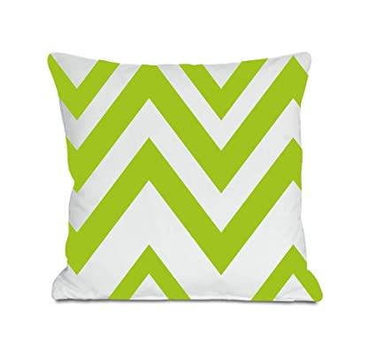 Amazon.com: Lime Green Throw Pillow Covers - Green Accent ...