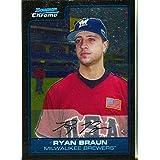 Ryan Braun 2006 Topps Card - Autographed Baseball Cards