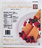 Michel De France All Natural Crepes - No Preservatives, Ready to Eat - 5 OZ Crepes Perfect with Jam, Berries Create…
