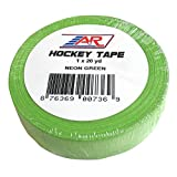 A&R Sports ITAPE120NG Hockey Tape, Neon Green