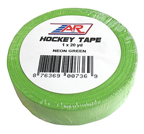 A&R Sports Hockey Tape Neon Green (Best Tape For Lacrosse Stick)