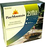 Pine Mountain Patio Firelog, 2-Hour Burn Time (Pack of 3).
