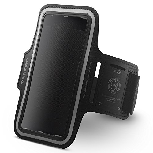 Price comparison product image Spigen Sports Armband 6 inch for iPhone 7 Plus / 6s Plus / Galaxy S7 Edge / LG G6 / Pixel XL and Compatible with Smaller Phones than 6 inch