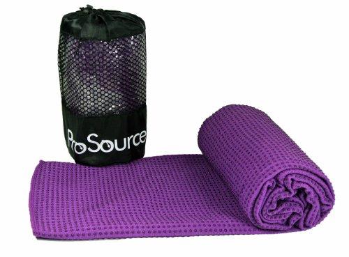 ProSource Original Premium Non-Skid Grippy Microfiber Yoga T
