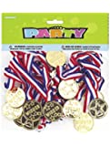 Gold Medal Party Game Prizes, 24ct