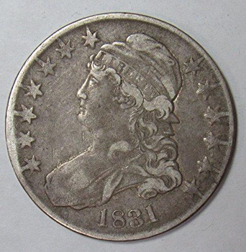 1831 Capped Bust Half Dollar 50c Very Fine O-113 R.4