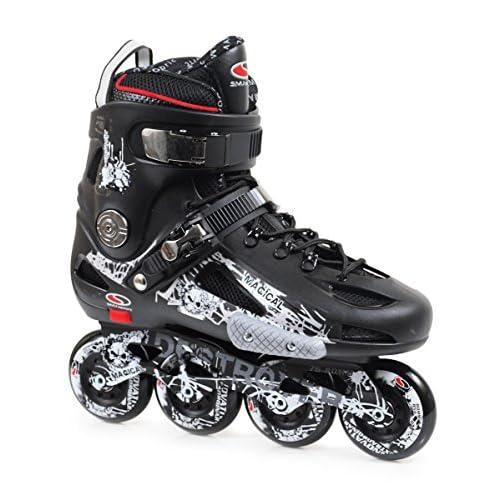 SMJ sport adultes mzs507Black Rollers en ligne, Noir, 42