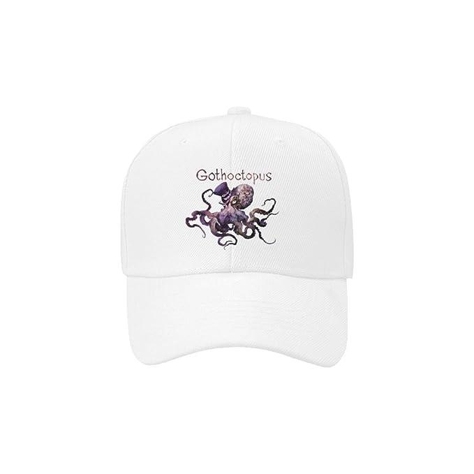 951209afb778b Artsadd Custom Classic Cotton Baseball Cap Fantastic Gothic Octopus ...
