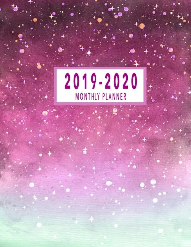 (2019-2020 Monthly Planner: 2019-2020 Monthly Planner At A Glance | 24 Months Calendar 2019-2020 Planner |  2019-2020 Academic Planner | Monthly ... Planner At A Glance Calendar) (Volume 8) )