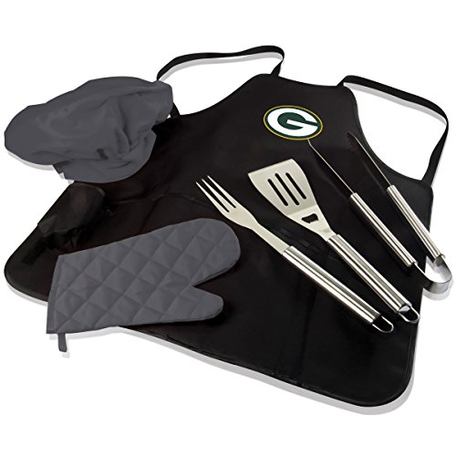 NFL BBQ Apron Tote Pro, Green Bay Packers