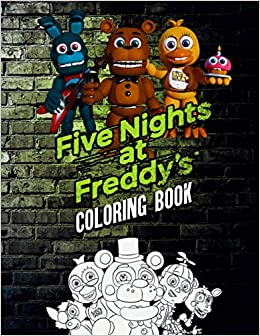 Amazon Com Five Nights At Freddy S Coloring Book 50 Coloring Pages Jumbo Coloring Book For Five Nights At Freddy S Fans 9798688712148 Max Willms Books