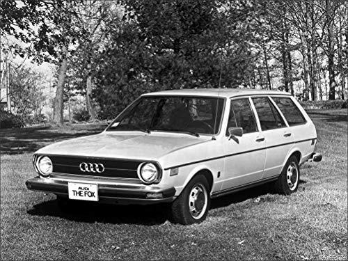 (Innerwallz Audi Fox Wagon 1975 Cars Wall Art, Pop Art, Poster, Art Prints | Rare Posters)