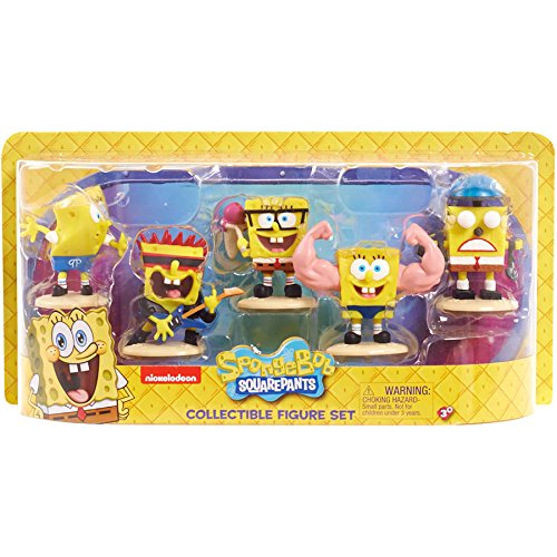 Nickelodeon SpongeBob Squarepants Collectible Figure Set]()