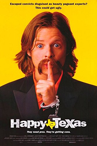 HAPPY, TEXAS (1999) Original Authentic Movie Poster 27x40 - ROLLED - Single-Sided - Steve Zahn - William H Macy - Jeremy Northam - Ally - H Macys