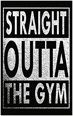 Amazon com: Mukuwa Sport Straight Outta The Gym - Poster