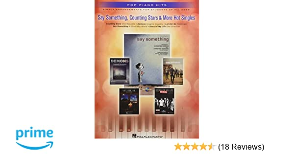 Say Something Counting Stars More Hot Singles Simple