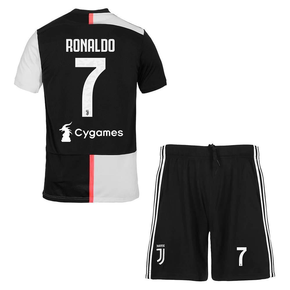 Football Sports Fan Team Camiseta Jersey para F/útbol-Campe/ón Camiseta de F/útbol Uniforme MBY 2019-2020 7 Ronaldo