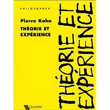 Théorie et expérience