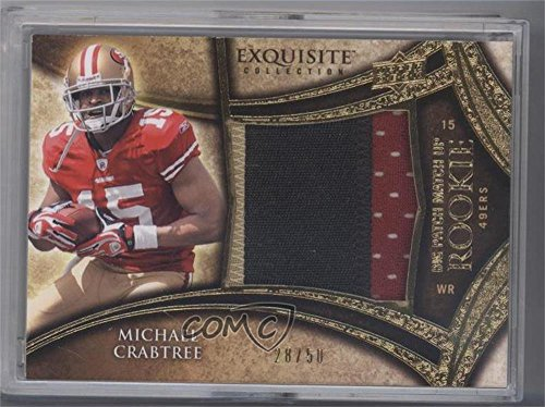 Michael Crabtree; Darrius Heyward-Bey #28/50 (Football Card) 2009 Upper Deck Exquisite Collection - Big Patch Match Up Rookies #MCDH