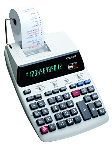 Canon 2204C001 Canon P170-DH-3 Calculator with Clock & Calendar, and Time