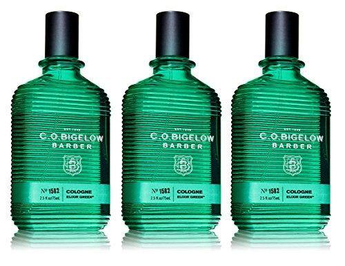 C.O. Bigelow Barber Cologne Elixir Green, 2.5 oz (Bigelow Perfume)