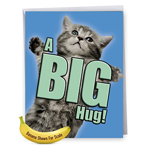 extra large get well card - 8