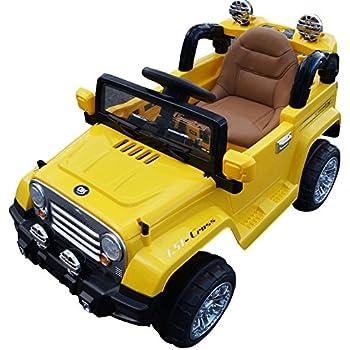 Amazon.com: Jeep Wrangler 12-volt MP3 Electric Battery