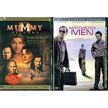The Mummy Returns & Matchstick Men - 2 Seperate DVDs in Set