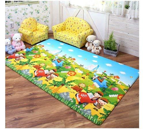 Dwinguler Safari Large Kid's Playmat