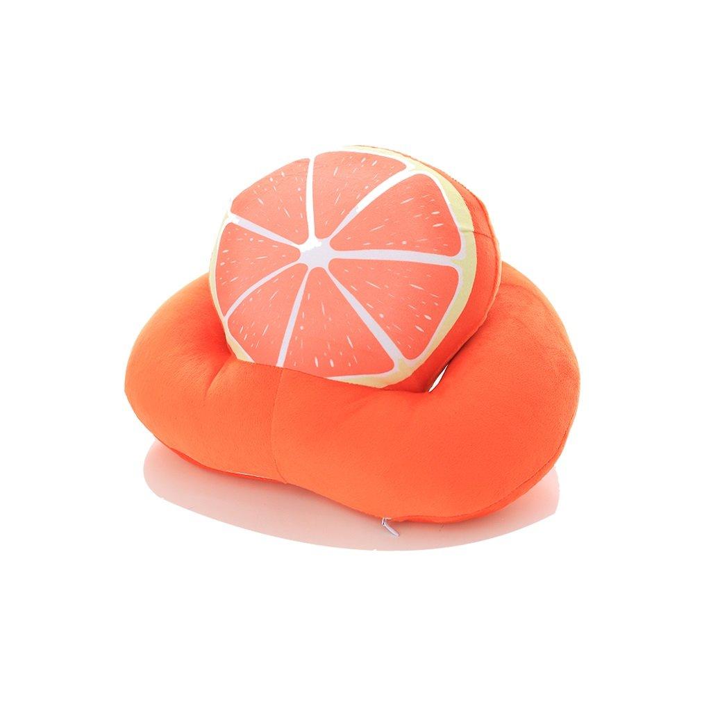 Clothes UK- Schlafkissen Lazy Schlafsaal Student Nap Sleeping Office Nap Liegen Kissen Schlaf Kissen Sommer Hals Kissen 27X21x15X9cm Schlafkissen (Farbe : Orange, größe : 36X28X20CM)