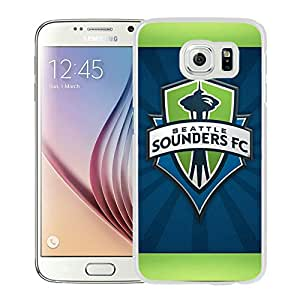 Seattle Sounders FC 19 White Individual Custom Samsung Galaxy S6 G9200 Case
