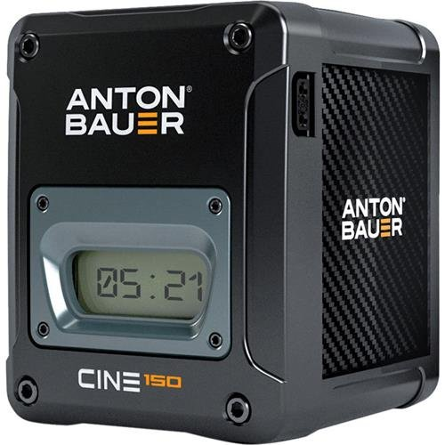 Anton Bauer CINE 150 14.4V 150Wh Gold Mount Lithium Ion Battery for Digital Cinema Cameras and Camera Stabilizer Systems by Anton Bauer