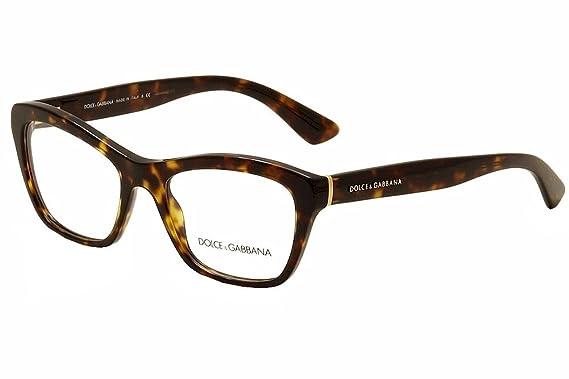 69d9d2a6037055 Dolce   Gabbana Montures de lunettes Pour Femme 3198 Lace - 502  Tortoise -  52mm