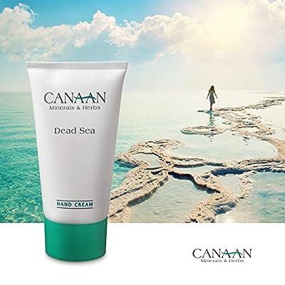 CANAAN Minerals & Herbs Dry Hand Repair Cream - Dead Sea Hand Cream, Deep Moisture For Dry Hands And Cracked Skin, 4.25 fl. oz / 125ml