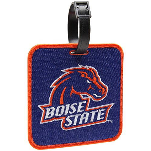 - NEW! Boise State Broncos Golf Bag Tag Embroidered Luggage Tag