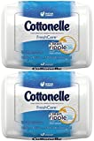 Cottonelle FreshCare Flushable Cleansing Cloths 42 Count 2 Pack Deal