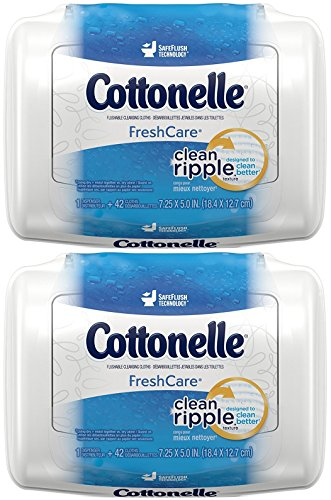 Cottonelle FreshCare Flushable Cleansing Cloths - 42 CT - 2 - Global Coupon Lens