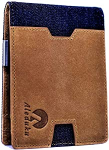 Sweepstakes: RFID Blocking Slim Bifold CANVAS and Genuine…