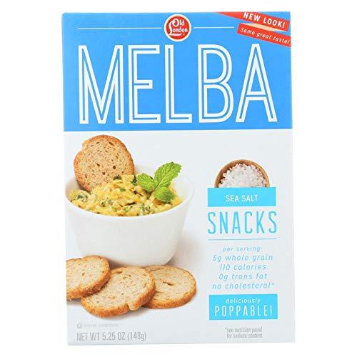 (Old London Melba Snacks, Sea Salt, 5.25 Ounce (Pack of 12))