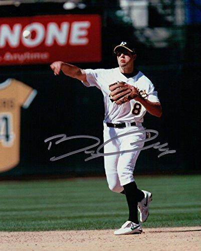 Autograph Oakland Athletics - Bobby Crosby Signed 8X10 Photo Autograph Oakland Athletics Auto w/COA Silver Ink