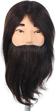 ManiquíEs De Aprendizaje Cabeza de práctica de cabello real ...