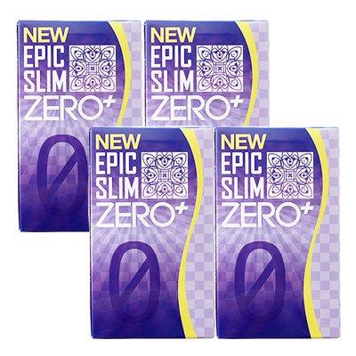 【予約受付中】 NEW エピックスリム ゼロ+ 4個セット B078RLFVKX NEW NEW Epic Slim Slim ZERO PLUS B078RLFVKX, 川口町:77d9f9b7 --- irlandskayaliteratura.org