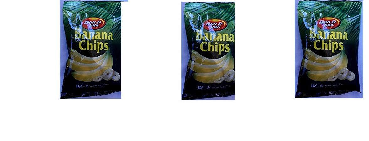 DAN-D PAK Banana Chips - Kosher Check 6 oz (pack of 3)