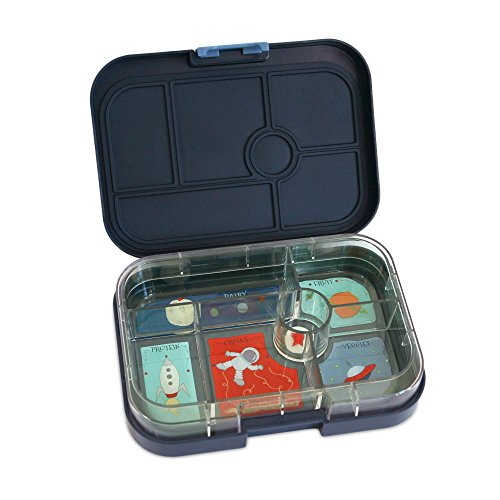yumbox leakproof bento lunch box container espace blue for import it all. Black Bedroom Furniture Sets. Home Design Ideas