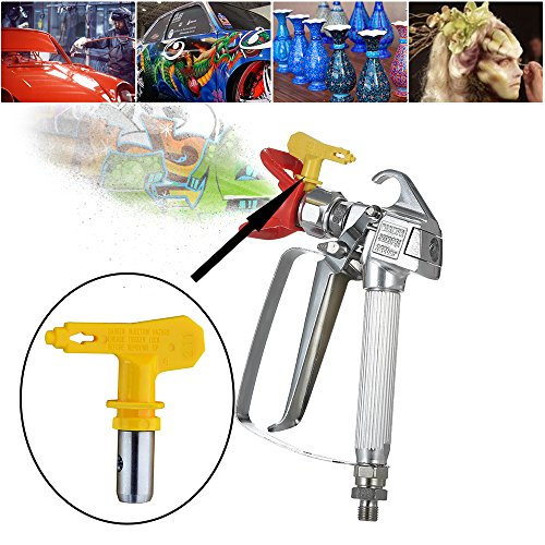 Machine Tip - KKmoon Professional Electric High Pressure Airless Spray Machine Tip Wear-resisting Nozzle Accessories
