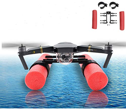 Yifant DJI Mavic Floating Landing Gear Bracket Holder Upgrade Buoyancy Landing Skid for DJI Mavic Air/Pro Quadcopter Helicopter Drone Accessories