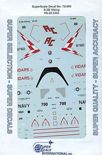 Review SuperScale Decals 1:72 S-3B