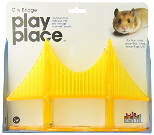 JW Pet Company Play Place City Bridge Small Animal Toy (Plastic Bridge)
